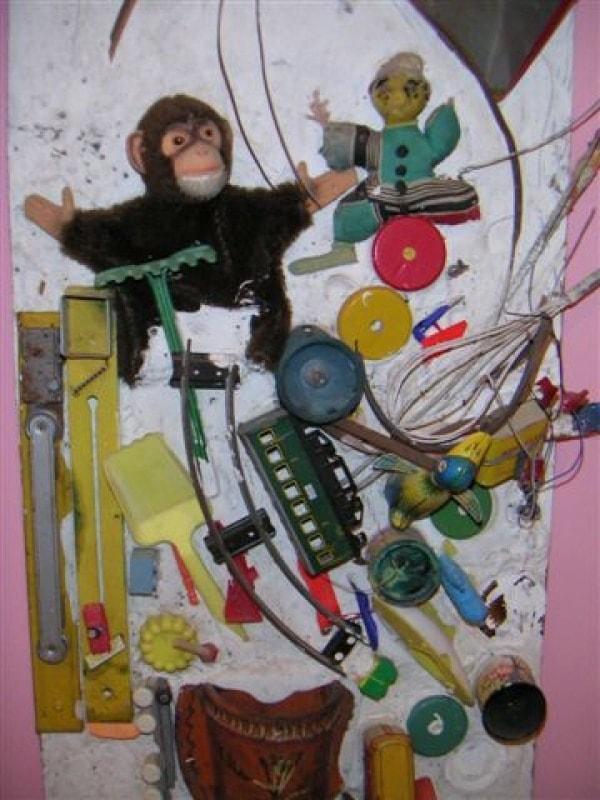 Niki de Saint Phalle, monkey, 1960-1961.