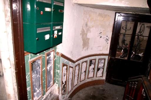 Une entrée d'immeuble (Photo NR / Rue89 Strasbourg)