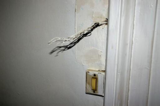 L'installation électrique est-elle aux normes ? (Photo NR / Rue89 Strasbourg)