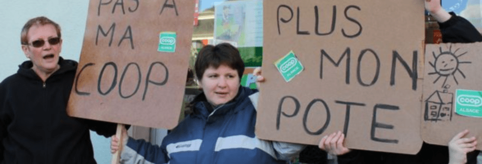 Coop Alsace : les salariés pris de court par la direction