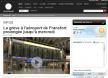 La grève à l'aéroport de Francfort prolongée jusqu'à mercredi