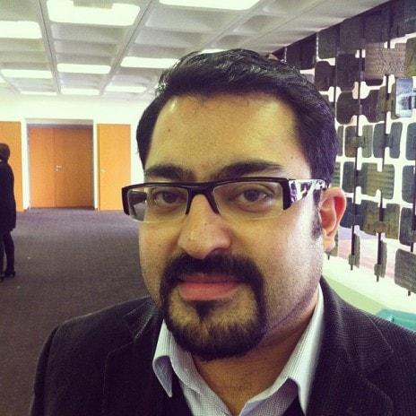 Syamak Agha Babei, conseiller municipal et communautaire (Photo MM)