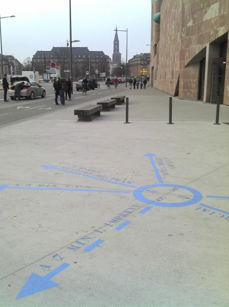 Le chemin de la récré, Démocratie créative / Ville de Strasbourg, fin 2011