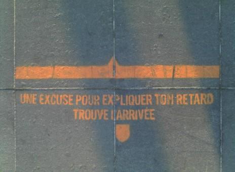 Spielplatz - signalétique urbaine récréatie, Démocratie créative, courant 2011