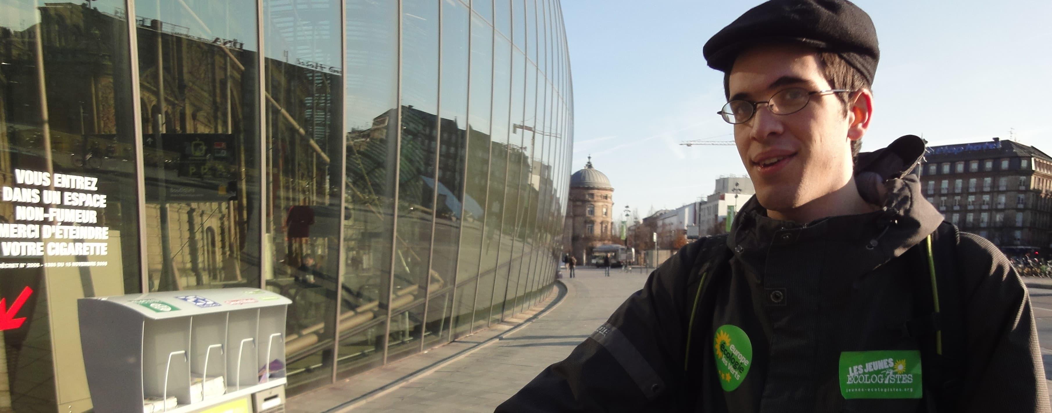 Maïeul Rouquette (EELV) : «Le vote utile est une expression scandaleuse»