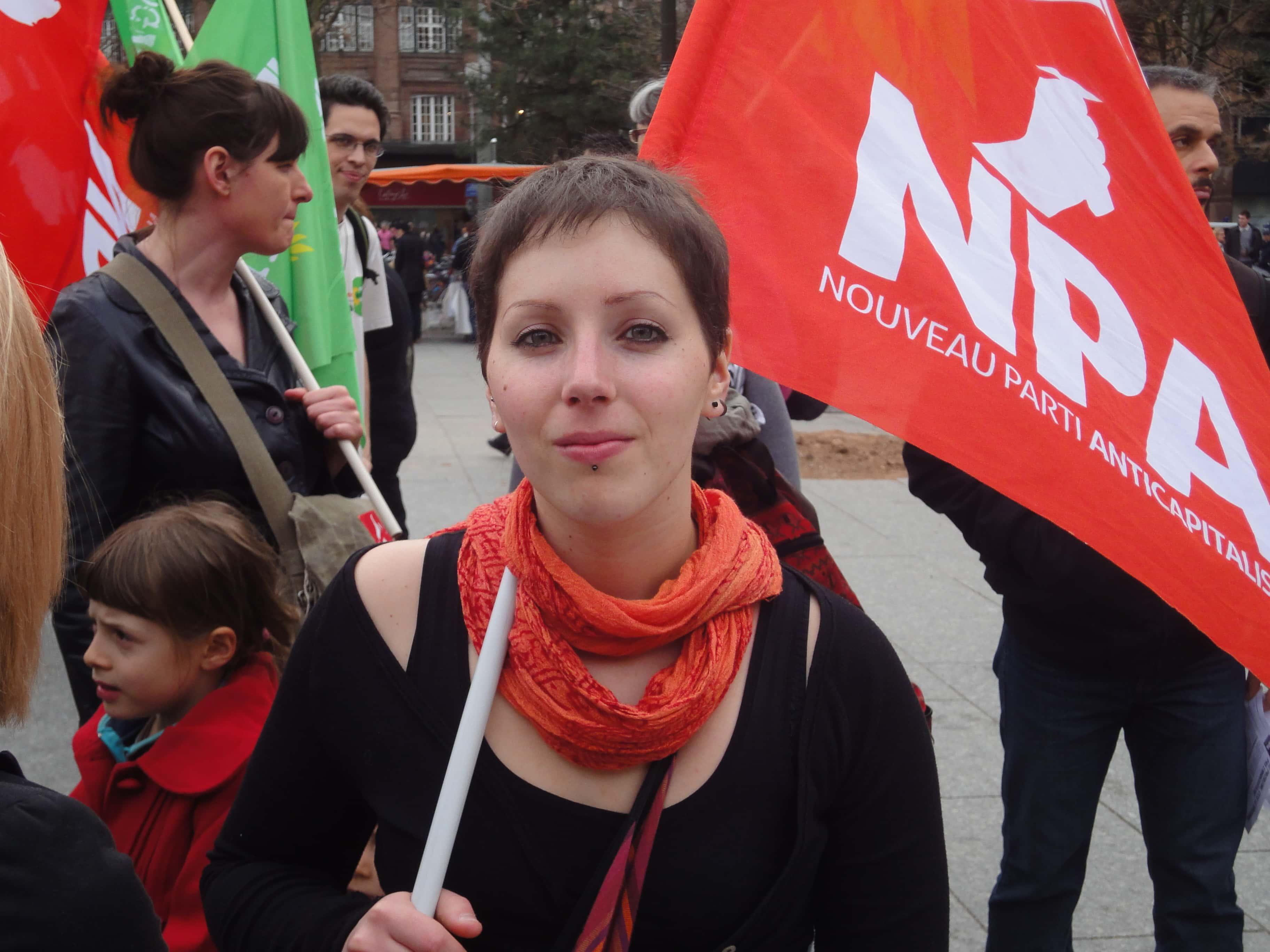 Sophie, militante NPA : «être de toutes les luttes»