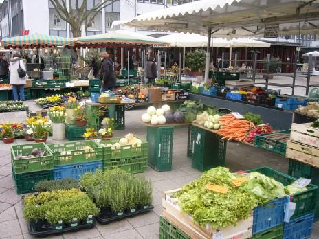 Le marché de Kehl