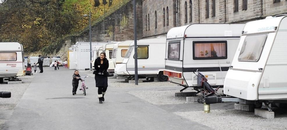 Les caravanes ne sont pas les bienvenues à Niederhausbergen