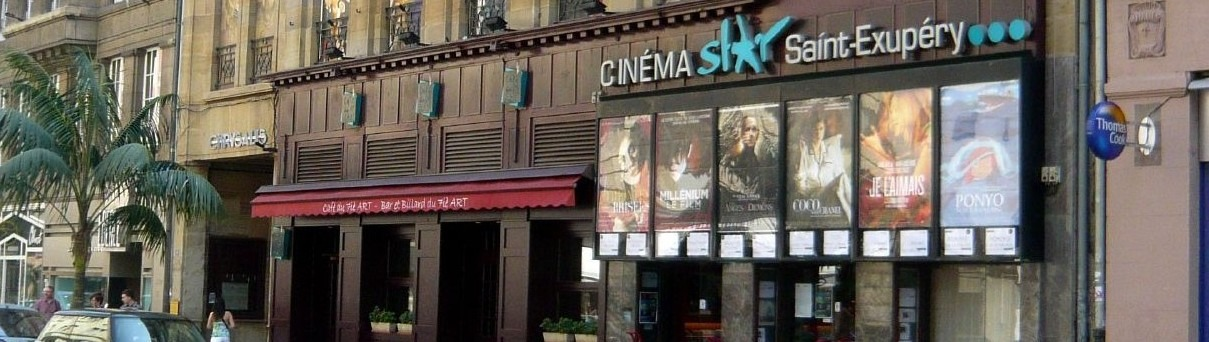 Le cinéma Star-St-Exupéry (Photo Hesdes / FlickR / CC)