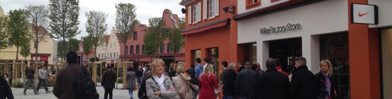 Le centre des marques a ouvert mercredi à Roppenheim. (Photo MC)