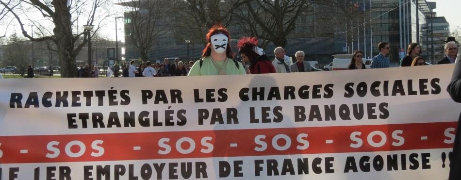 Des petits patrons en colère contre les banques