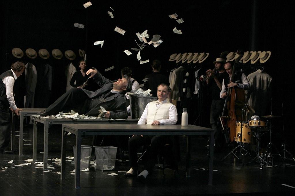 Théâtre : Redoutable Système de Ponzi
