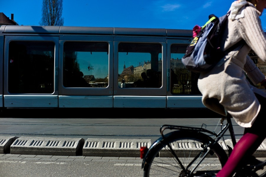 Les vélos à nouveau autorisés dans le tram dès le 1er février, mais la manifestation de samedi maintenue