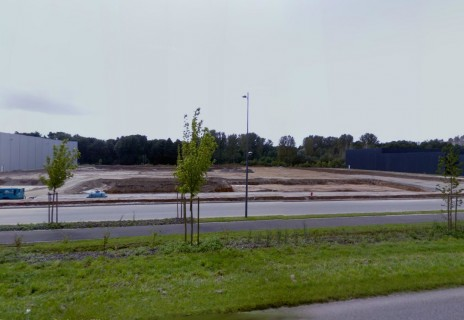 La plate-forme d'activités départementale telle qu'elle a été photographiée par Google Street View. (DR)
