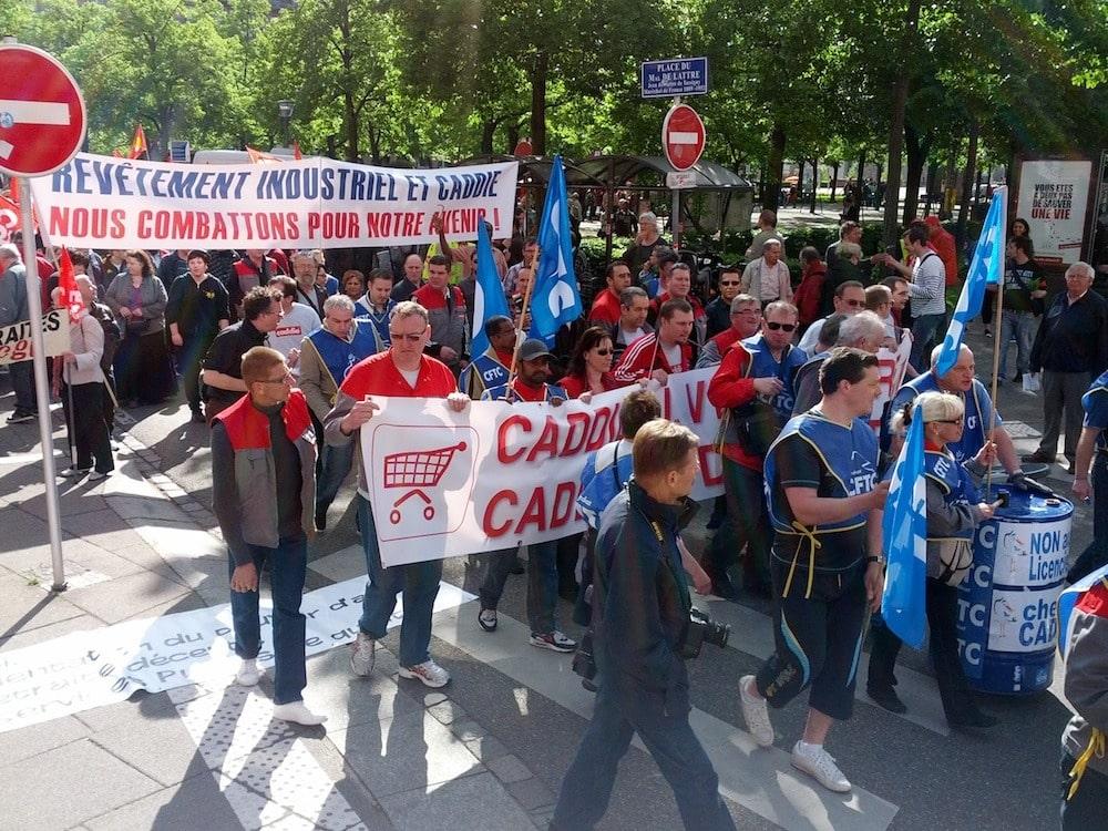 Le défilé du 1er mai a rassemblé près de 3000 personnes à Strasbourg