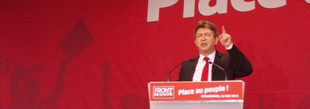 Mélenchon à Strasbourg : «je m'adresse aux fâchés qui ne sont pas fachos»