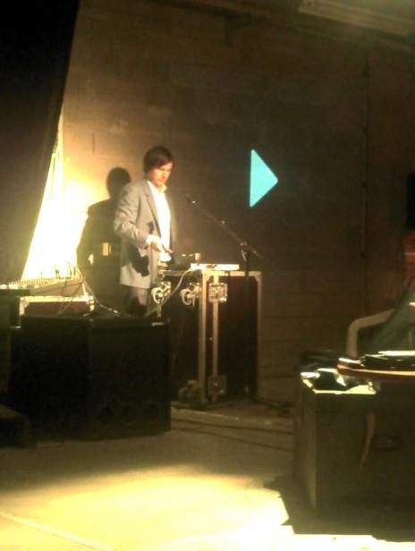 Christophe Boursault au Hall des Chars le 13 juin 2012, photo: C.R.