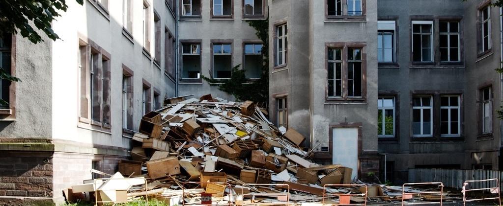 Hôpital civil de Strasbourg: silence, on démantèle