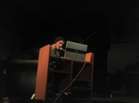 Joachim Montessuis au Hall des Chars le 13 juin 2012, photo couchée: C.R.