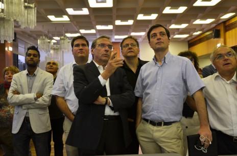 R. Ries, à la CUS, découvre les résultats des élections législatives.