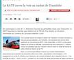 La RATP s'assied sur 5,1M€ dus par Translohr