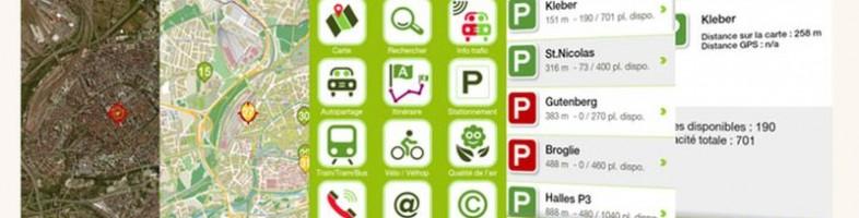 L'application StrasMap, portail mobile sur la ville (DR)