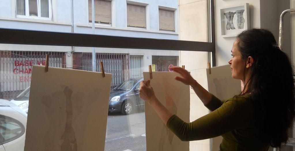 L'atelier de l'Instant de Véronique Duflot, rue Kageneck