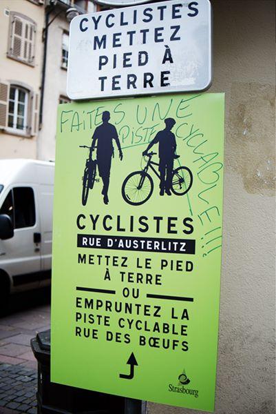 Tribune : Il y a un conflit entre piétons et cyclistes à Strasbourg