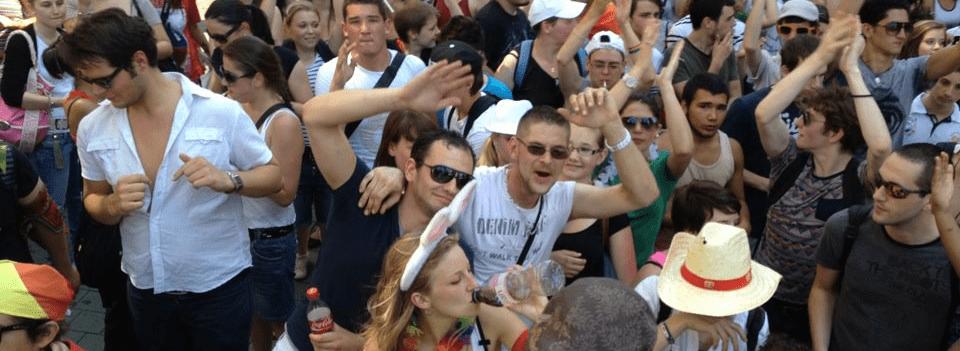 Diaporama : la marche des visibilités à Strasbourg