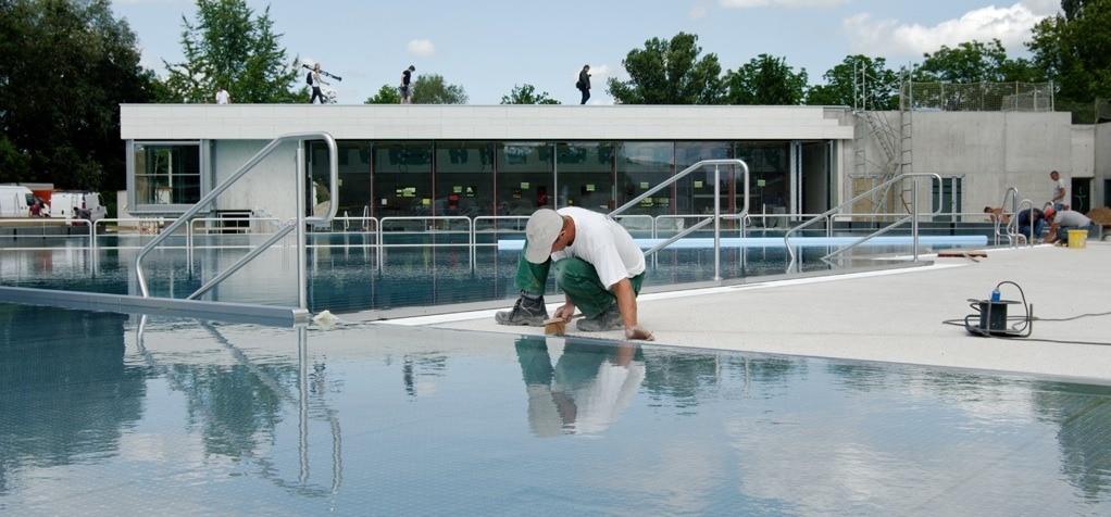 Restructurée et relookée, la piscine du Wacken sera désormais ouverte toute l'année