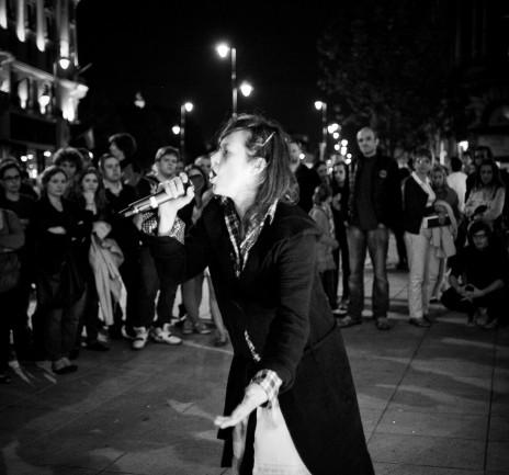 """Weronika Carre qui se produira le samedi 16 juin 2012 au Hall des Chars dans le cadre de """"sans titre mais poétique #2"""". Photo: DR"""