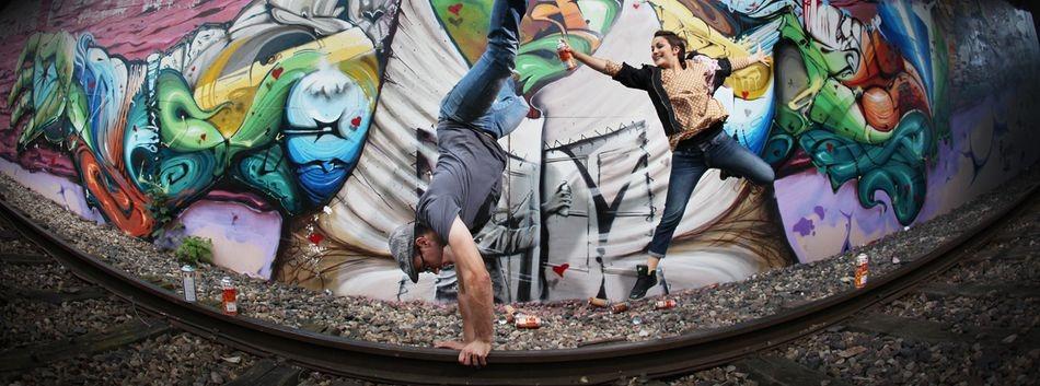 «In graff we trust» : Rensone et Missy au sommet d'un art méconnu