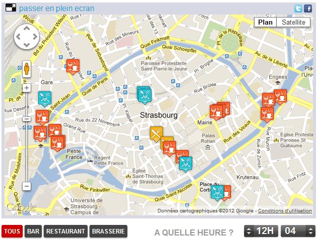 Trouvez la bonne terrasse ensoleillée avec Rue89 Strasbourg