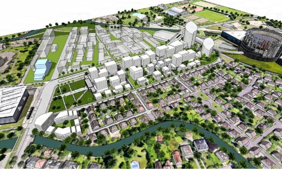 Au conseil municipal, les chantiers du quartier d'affaires du Wacken continuent