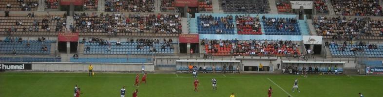 Sous les yeux de quelques 6023 spectateurs, le Racing a peiné face à Jura-Sud (1-1).
