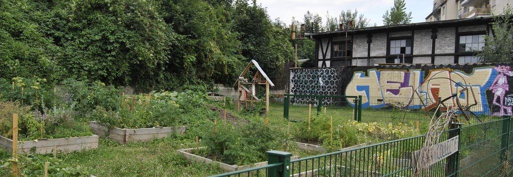 Le jardin partagé du quartier gare