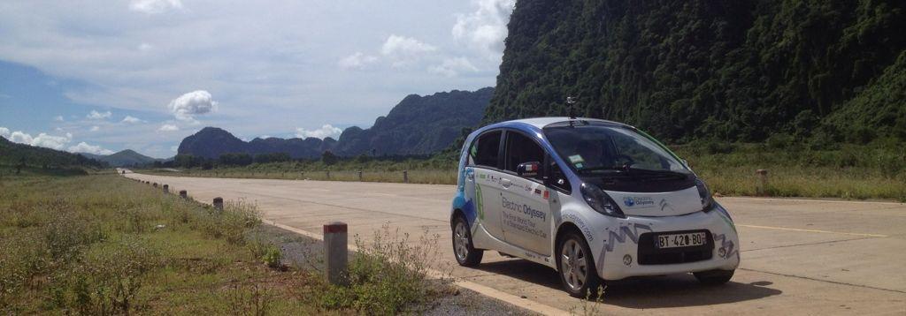 Après la Chine et les plaines kazakhs, l'Electric Odyssey s'achève aujourd'hui à Strasbourg