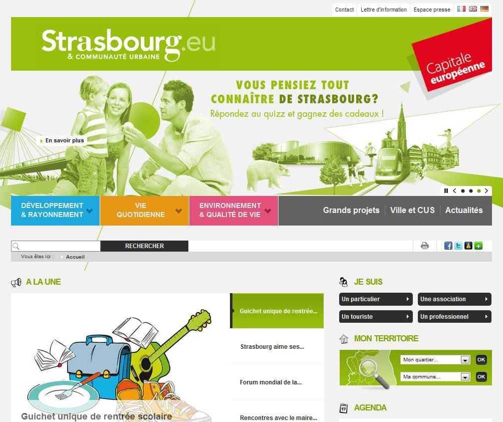 Le nouveau site web Strasbourg.eu veut faire évoluer l'administration