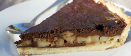 Incontournable tarte banane chocolat