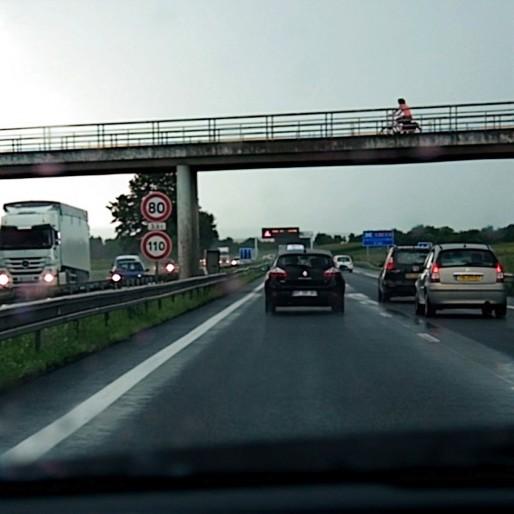 Le GCO aurait permis, selon ses promoteurs, de désengorger l'A35 qui passe dans Strasbourg (Photo Pascal Bastien)