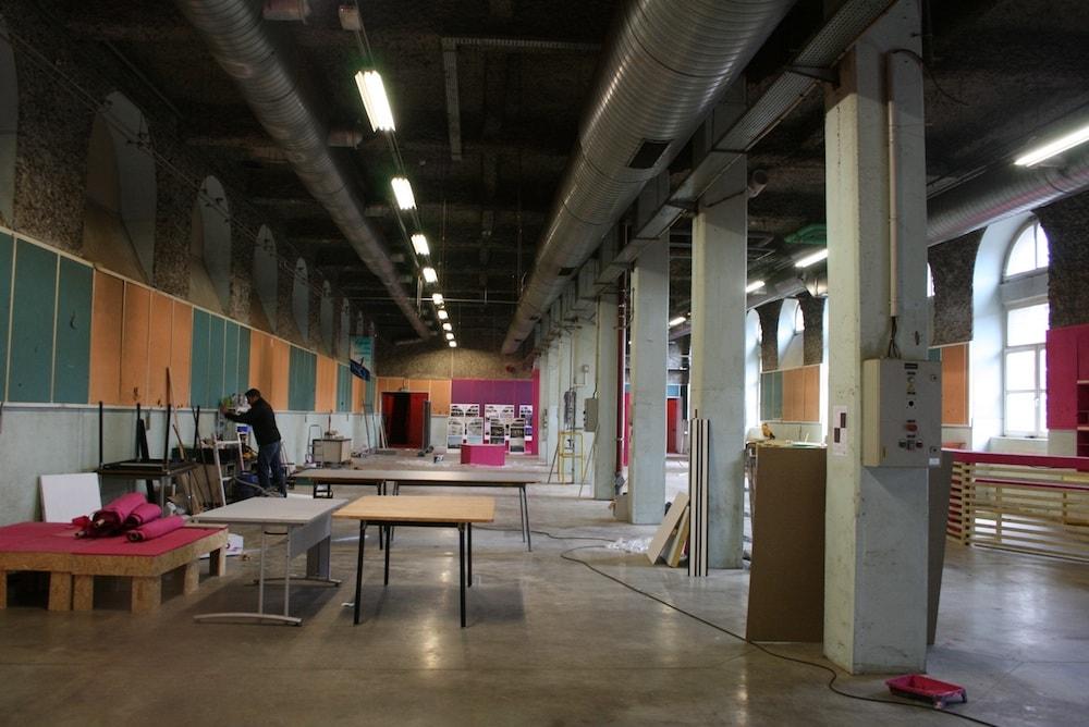 Diaporama j 7 avant l 39 ouverture au public de la manufacture des tabacs rue89 strasbourg - Bureau de tabac strasbourg ...
