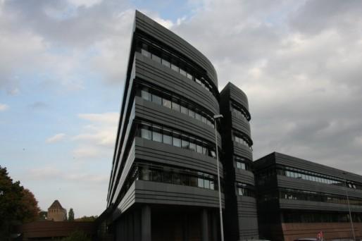 Le bâtiment du conseil général du Bas-Rhin à Strasbourg (Photo J-N Strasbourg / FlickR / CC)