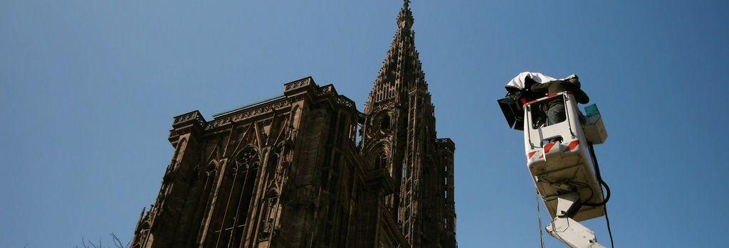 La cathédrale de Strasbourg en 3D relief sur Arte