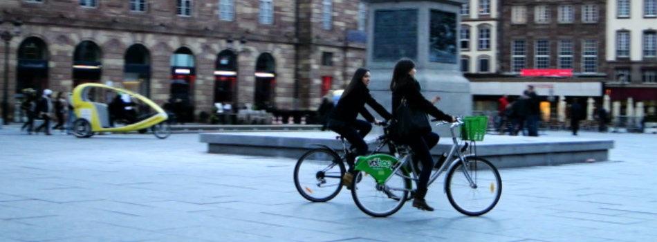 strasbourg les cyclistes vis s par des amendes minor es. Black Bedroom Furniture Sets. Home Design Ideas