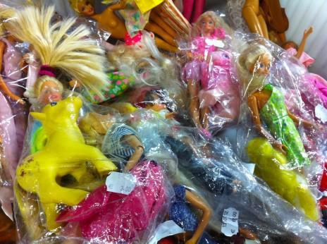 Barbie et Petits poneys, les premières victimes du tri des chambres d'enfants (Photo MM)