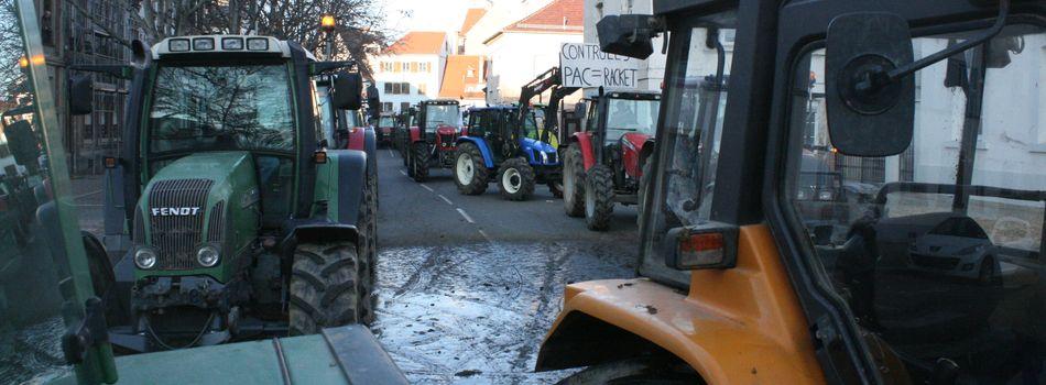 C'est quoi tous ces tracteurs et c'est quoi cette odeur ?