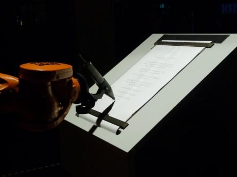 "Robotlab, ""Manifeste"". © Robotlab. Photo: CR."