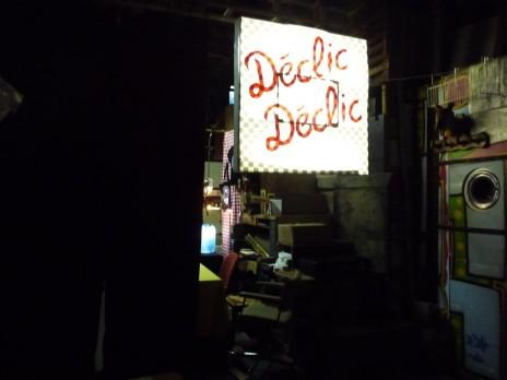 Vue de l'entrée du marché des créateurs. Photo: CR.