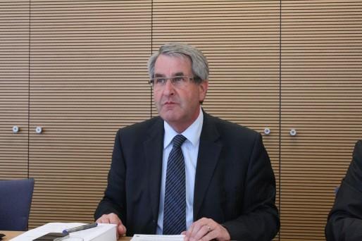 Philippe Richert, président du Conseil régional d'Alsace (Photo PF / Rue89 Strasbourg)