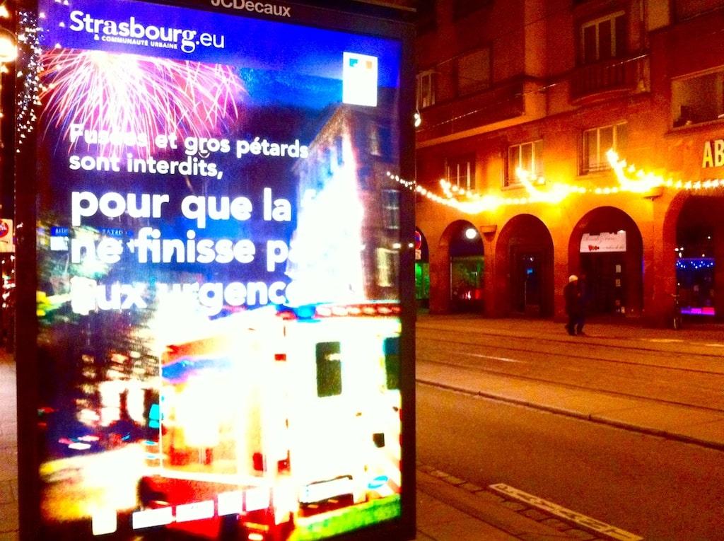 Pétards à la Saint-Sylvestre : Strasbourg n'en veut plus